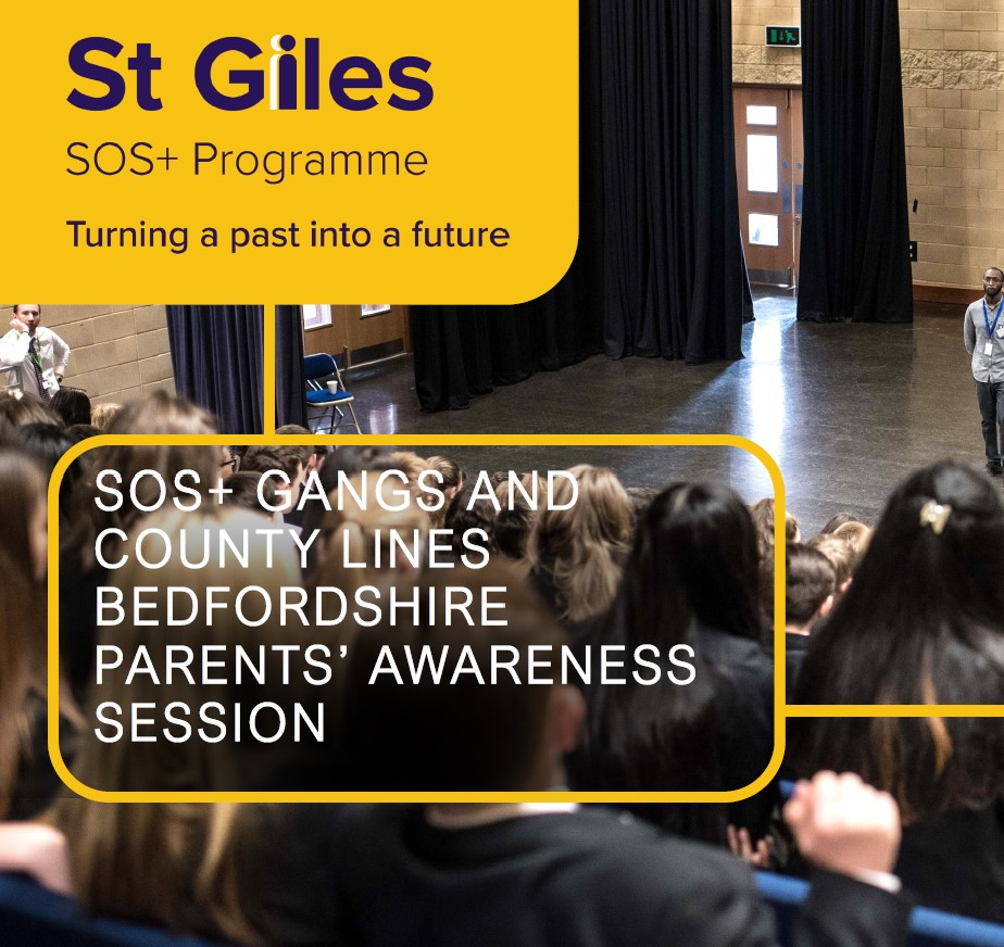 SOS+ gangs and county lines Bedfordshire parents' awareness session